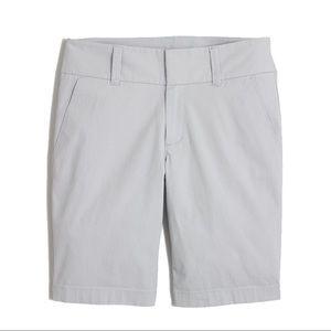 J.Crew Factory Frankie grey shorts, sz 10